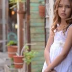 vestido blanco para niñas verano 2015 Anavana