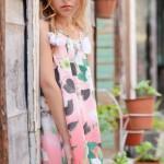 vestidos estampa floral para niñas Anavana verano 2015
