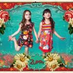 Zuppa chicos vestido para nena urbano primavera verano 2015