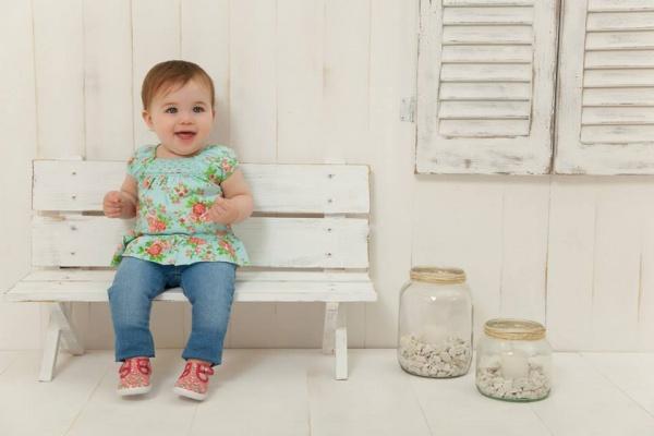 blusa y jeans minimimo primavera verano 2015 bebes - mimo co