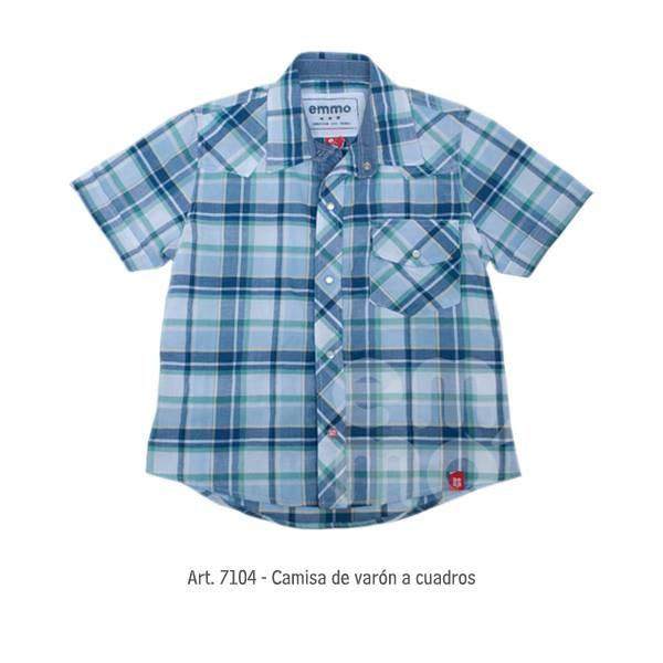 camisa a cuadros varon Emmo primavera verano 2015
