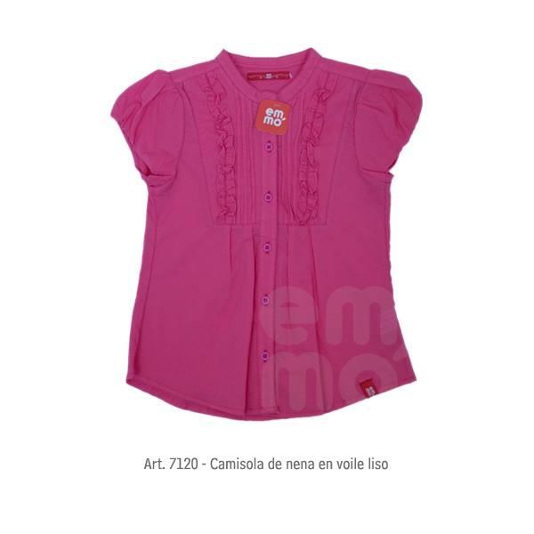 camisa niña Emmo primavera verano 2015