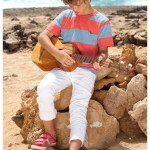 jeans y remera a rayas nenes Mimo co primavera verano 2015
