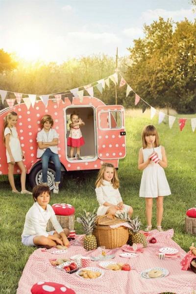 look romanticos Paula Cahen D Anvers Niños primavera verano 2015