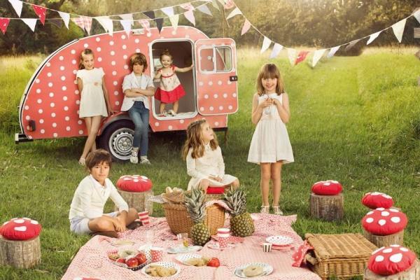 moda infantil Paula Cahen D'Anvers Niños primavera verano 2015
