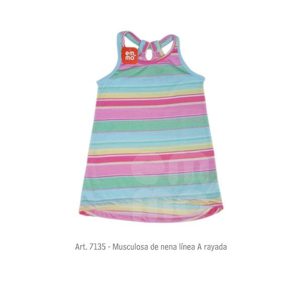 musculosa nena a rayas Emmo primavera verano 2015