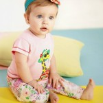 pantalon floreado para bebes Baby way verano 2015