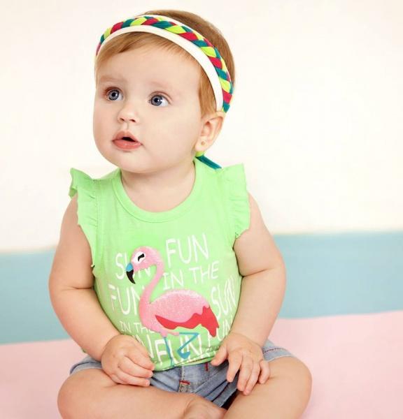 remera para bebes Baby way verano 2015