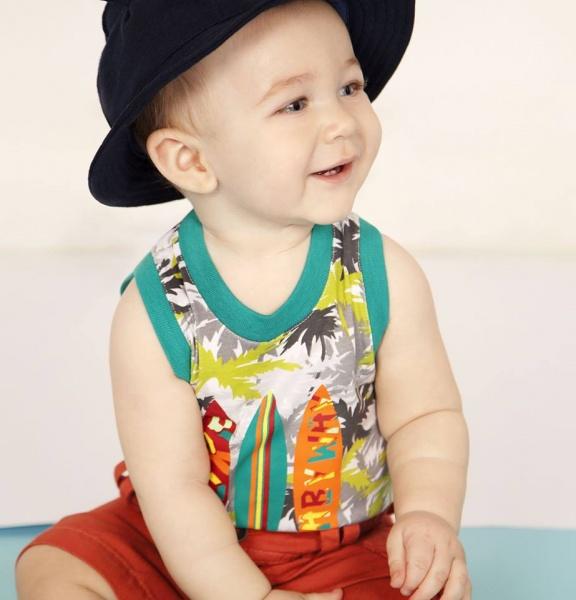 remera y bermudas para bebes Baby way verano 2015