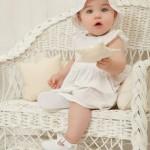 vestido blanco bebe minimimo primavera verano 2015 bebes mimo co