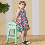 vestido estampa tropical Nucleo Nenas primavera verano 2015