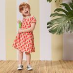 vestido figuras geometricas Nucleo Nenas primavera verano 2015