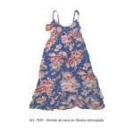 vestido floreado Emmo primavera verano 2015