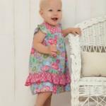 vestido floreado bebe minimimo primavera verano 2015 bebes mimo co