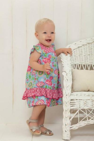 vestido floreado bebe minimimo primavera verano 2015 bebes - mimo co