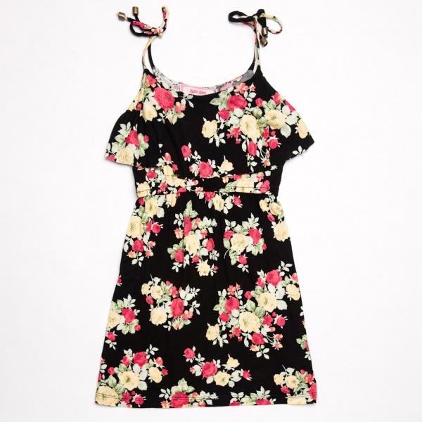 vestido nena floreado Queen Juana primavera verano 2015