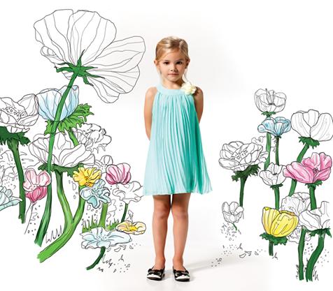 vestido para fiesta Nucleo Nenas primavera verano 2015