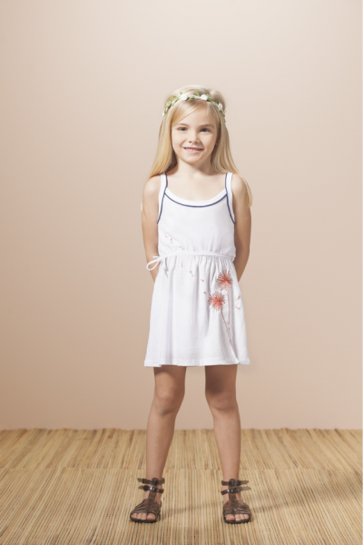 vestido playa para niñas  Nucleo Nenas primavera verano 2015