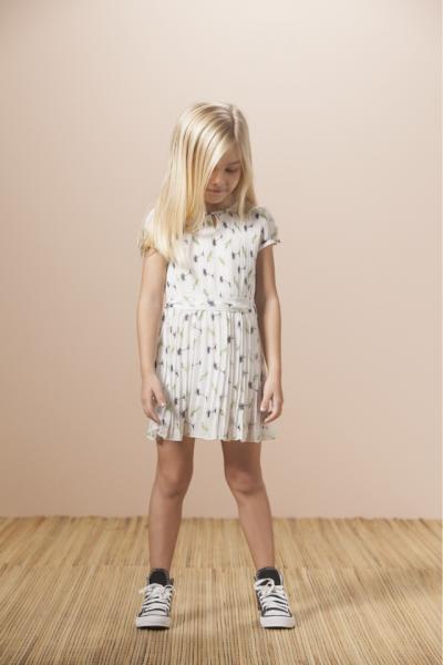 vestido plisado Nucleo Nenas primavera verano 2015