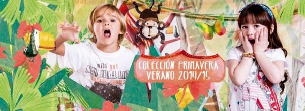Moda infantil Gepetto primavera verano 2015