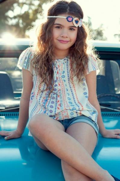 blusa nena - Advanced moda infantil verano 2015