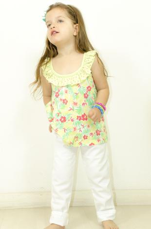 blusa para nenas Payasin verano 2015