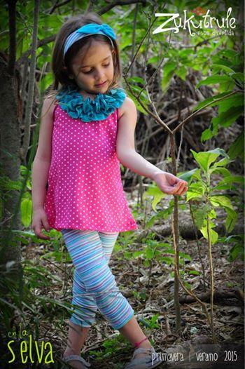 blusa y calza nena Zukutrule primavera verano 2015