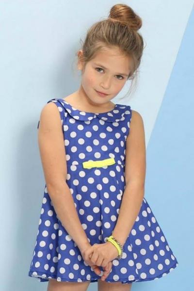 vestido a lunares Pioppa primavera verano 2015
