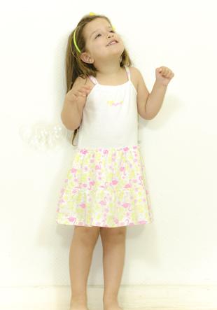 vestido estampado nena Payasin verano 2015