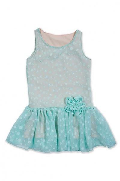 vestido nena celeste Me Viste La Nona verano 2015