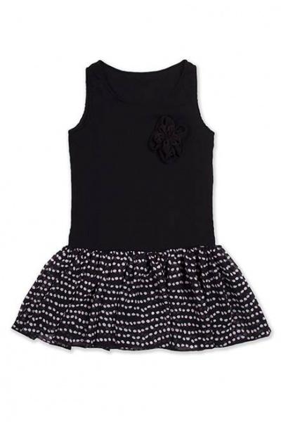 vestido nena negro volado Me Viste La Nona verano 2015