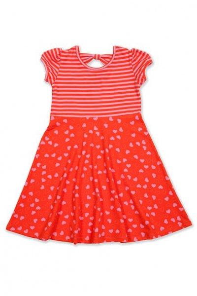 vestido nena rojo mix estampa Me Viste La Nona verano 2015