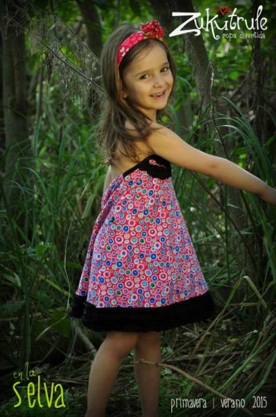 vestido para el dia nena Zukutrule primavera verano 2015