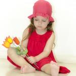 vestido rojo nena Payasin verano 2015
