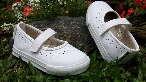 zapatitos blancos para nenas Joe Hopi verano 2015