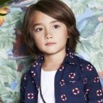 camisa para nenes Little Akiabara verano 2015