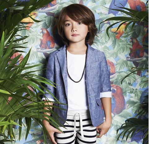 saco para varon Little Akiabara verano 2015