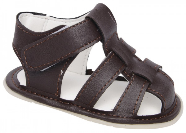sandalia marron para bebes Plumitas verano 2015