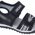 sandalias negras para nenes Plumitas verano 2015