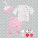 Batita ranita para bebe rosa Gamise otoño invierno 2015