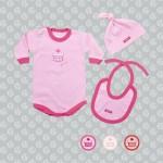 body para nenas rosa y fucsia Gamise otoño invierno 2015