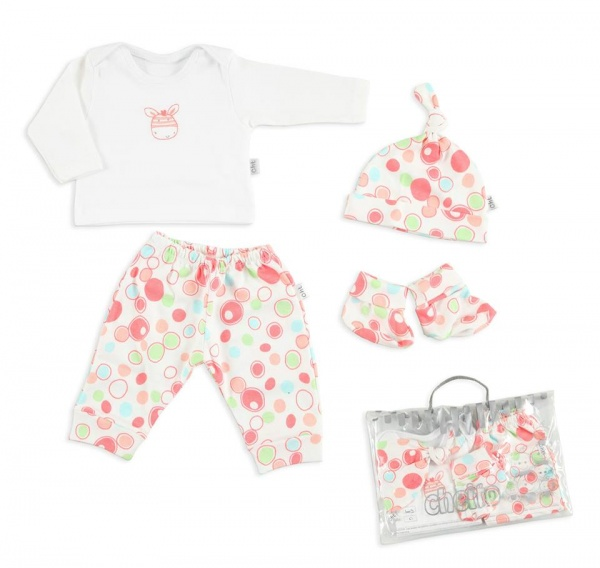conjunto para bebe nena Baby Cheito otoño invierno 2015