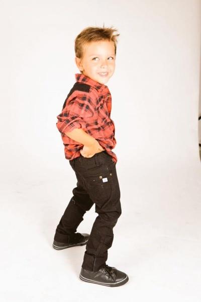 camisa y jeans infantil pecosos otoño invierno 2015