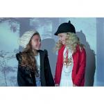 campera y cardigans Nucleo Moda Nenas otoño invierno 2015