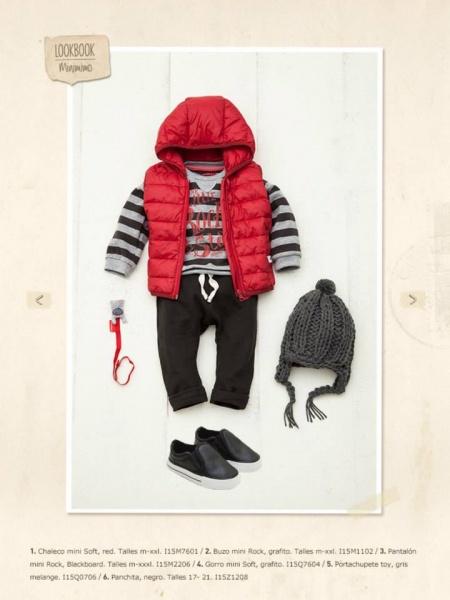 chaleco bebe invierno 2015 - minimimo