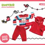 conjunto plush recien nacido OWOKO otoño invierno 2015