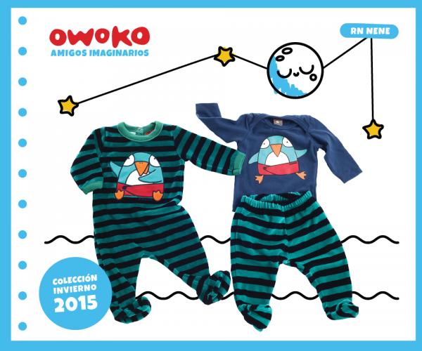 enterito plus recien nacido OWOKO otoño invierno 2015