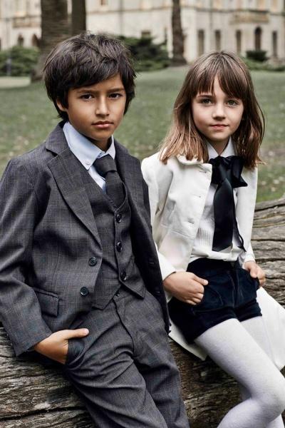 moda infantil Paula Cahen D Anvers Niños  otoño invierno 2015