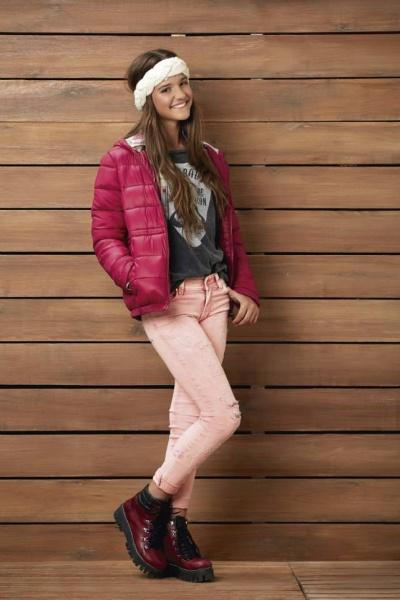 remera y jeans niñas Kevingston niños invierno 2015