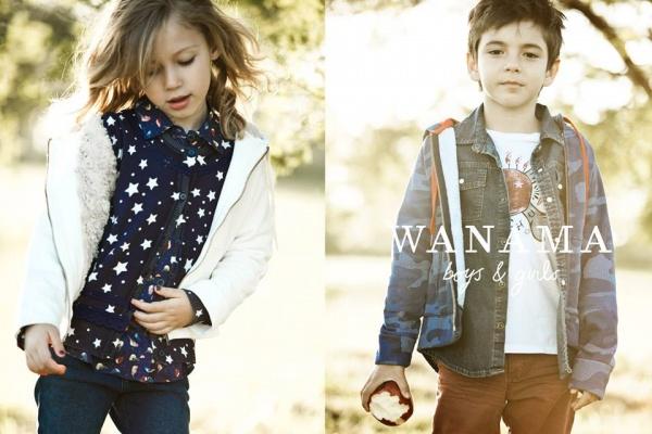 remeras y camisas para chicos  Wanama Boys & Girls otoño invierno 2015